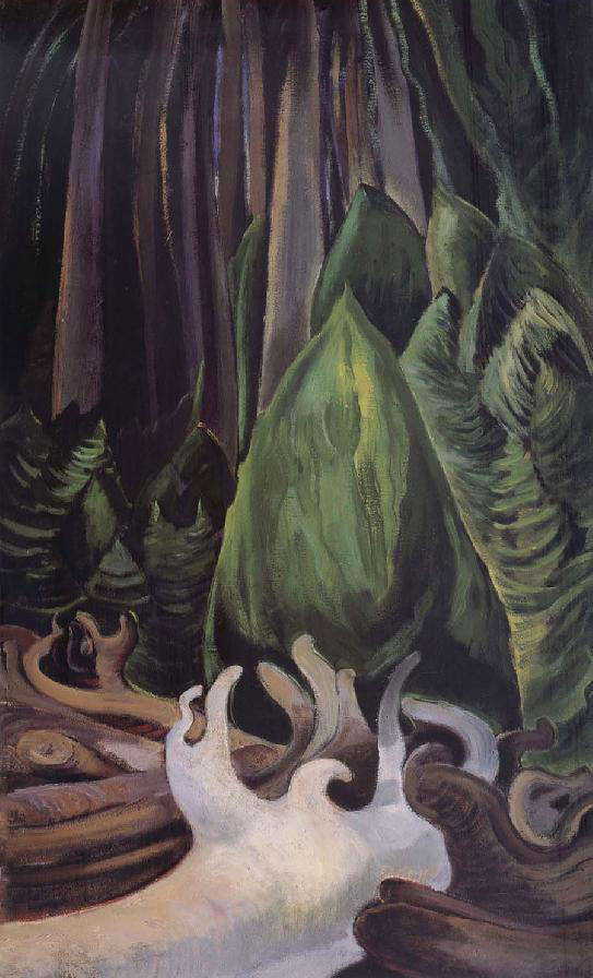 Painting by Emily Carr.