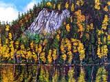 Fall colours, by B.C. painter Doris Laner.